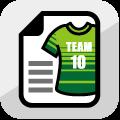 サッカーユニフォームのチームオーダー