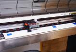 昇華プリントから生地の縫製まで一貫製作。