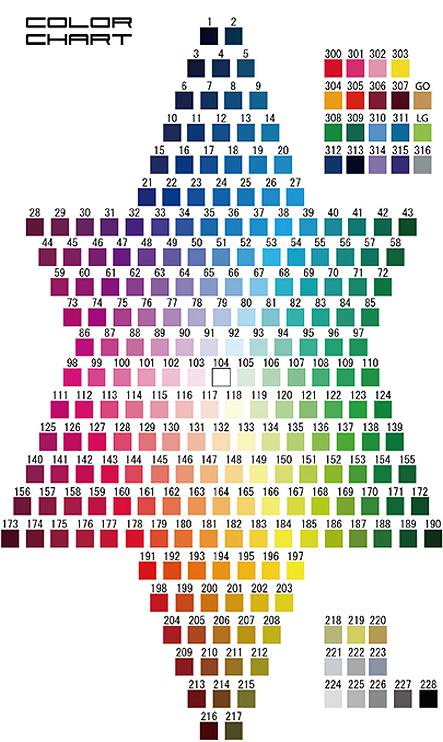 フルオーダーAで使える色