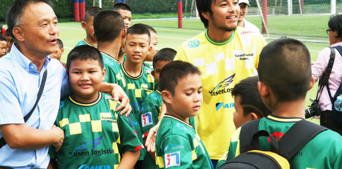 タイ-日本 ろう学校サッカー交流会