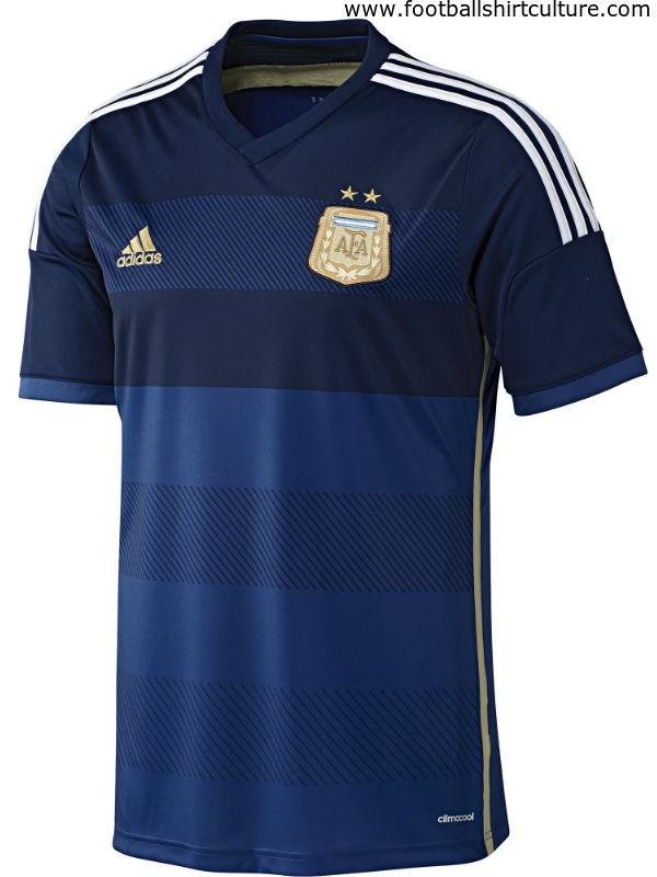 2014アルゼンチン代表アウェイ表