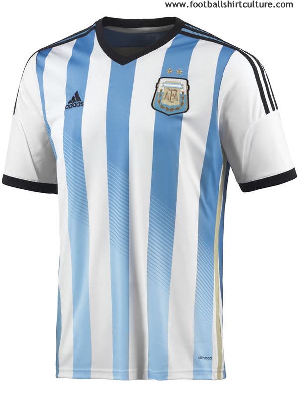 2014アルゼンチン代表ホーム表