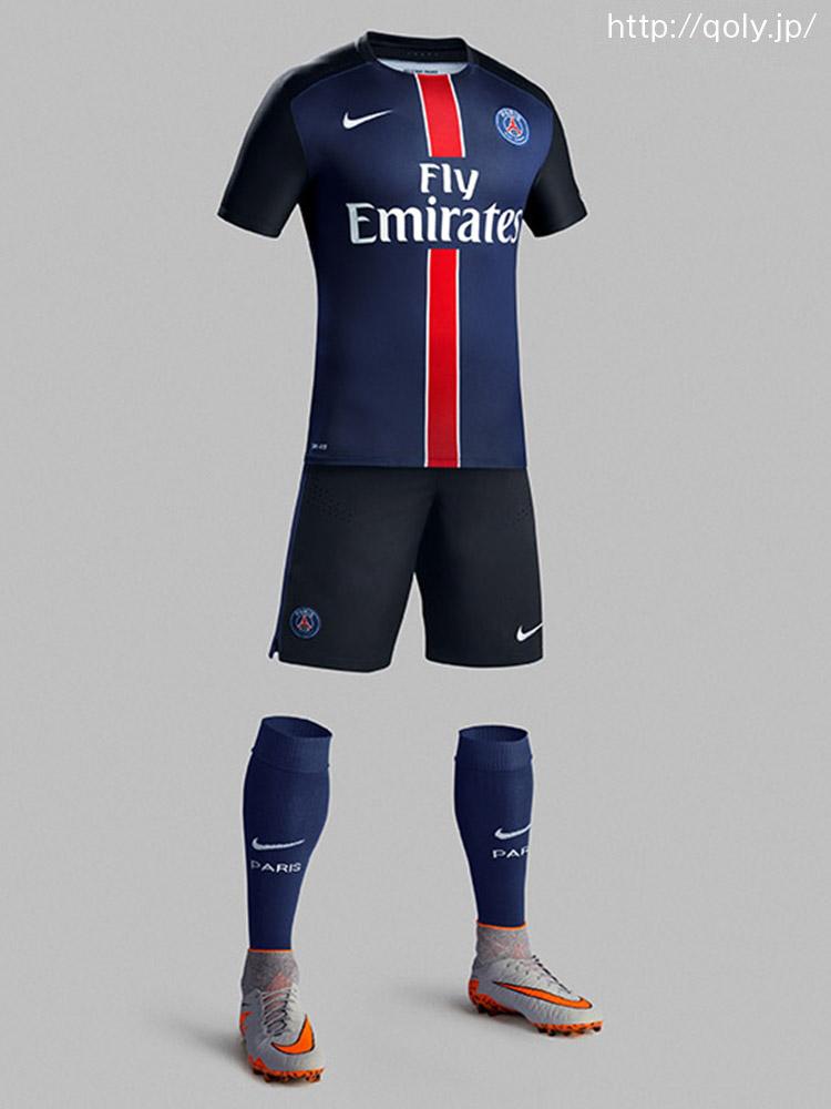 パリ・サンジェルマンFCのホーム・アウェイ歴代サッカーユニフォームを ...