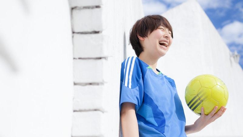 サッカーを楽しむイメージ